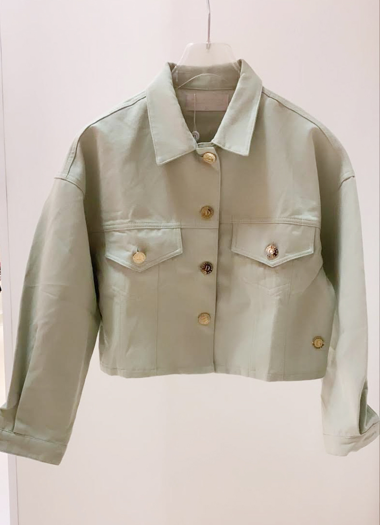 SALE jacket delia mint groen